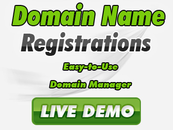 Low-cost domain registration services